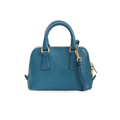 saffiano mini bag blue